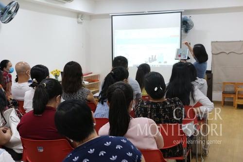 Teacher training at Clover Kindergarten