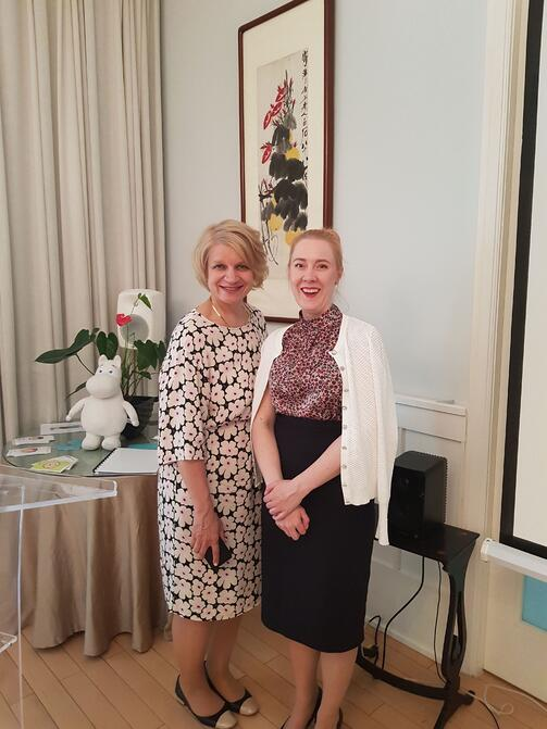 Anu Guttorm and Mari-Anna Suurmunne