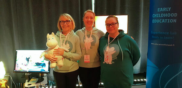MoominLS staff at Dare to Learn