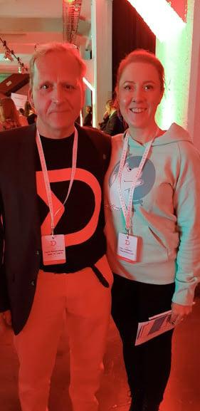 Jouni Kangasniemi and Anu Guttorm