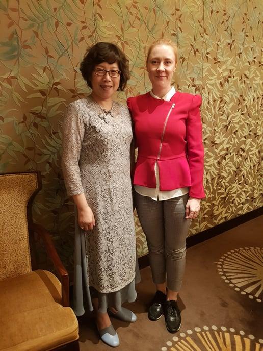 Anu Guttorm and Ms. Tang