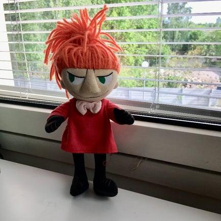 Little My doll for Moomin Language School