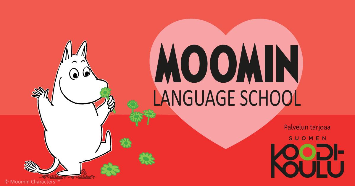 Moomin Language School ja Suomen Koodikoulu yhteistyössä